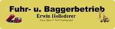 Fuhr- und Baggerbetrieb Erwin Hollederer